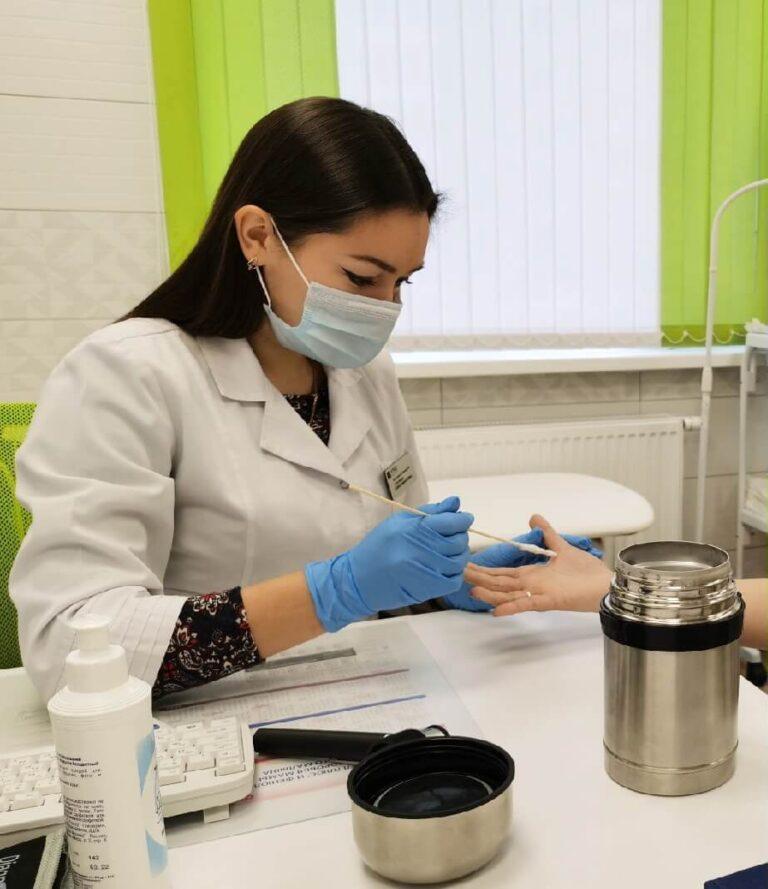 Удаление новообразований жидким азотом
